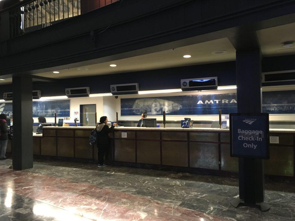 ユニオン駅(Union Station)切符売り場