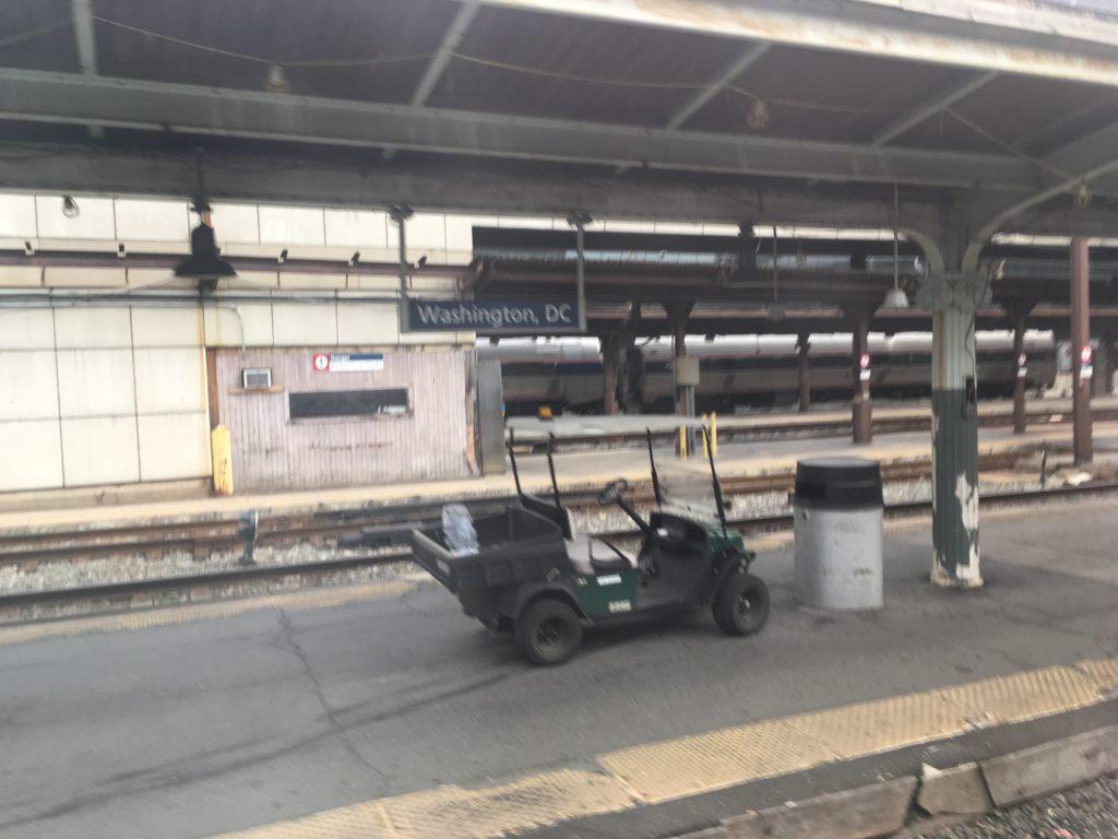 ユニオン駅(Union Station)ホーム