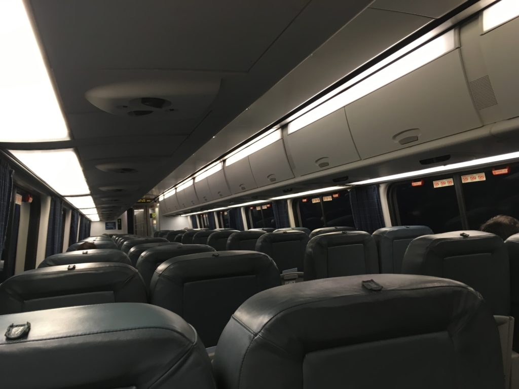 アセラ特急(Acel Express)車内